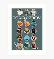 DroidArmy: Maclac Squadron (on your wall!) Art Print