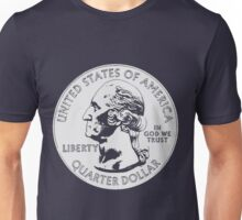 WASHINGTON-QUARTER DOLLAR Unisex T-Shirt