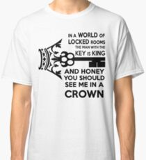 Moriarty Key Quote - Black Text Classic T-Shirt