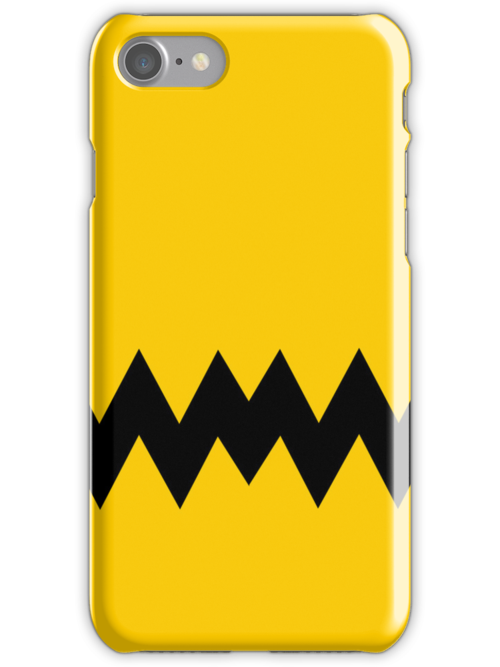 Charlie Brown iPhone Case by Tom Trager