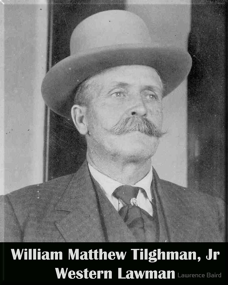 Bill Tilghman Western Marshal by Lawrence Baird