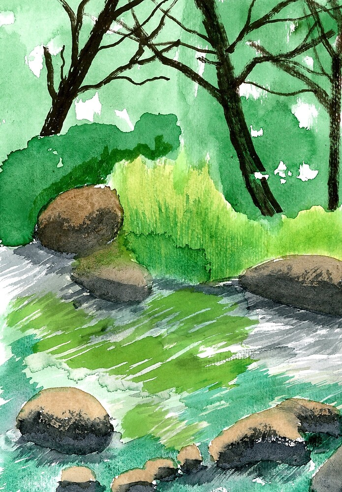 Brook by Roza Ganser