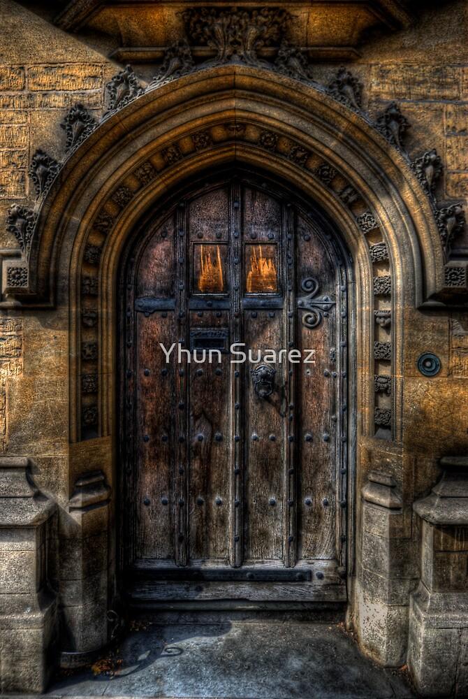 Old College Door by Yhun Suarez