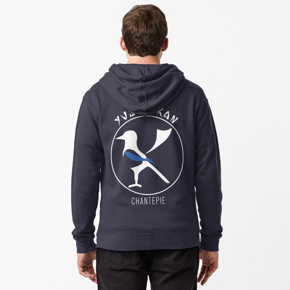 Veste zippée à capuche «YUSHINKAN logo»