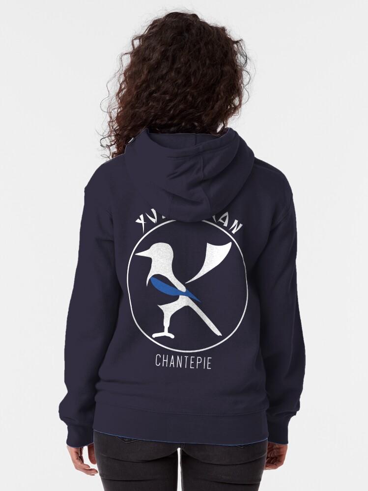 Veste zippée à capuche ''YUSHINKAN logo': autre vue