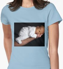 Sleeping baby sweet Womens Fitted T-Shirt