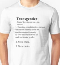 Definition of Transgender Unisex T-Shirt