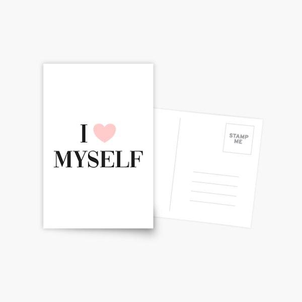 I love myself Postcard