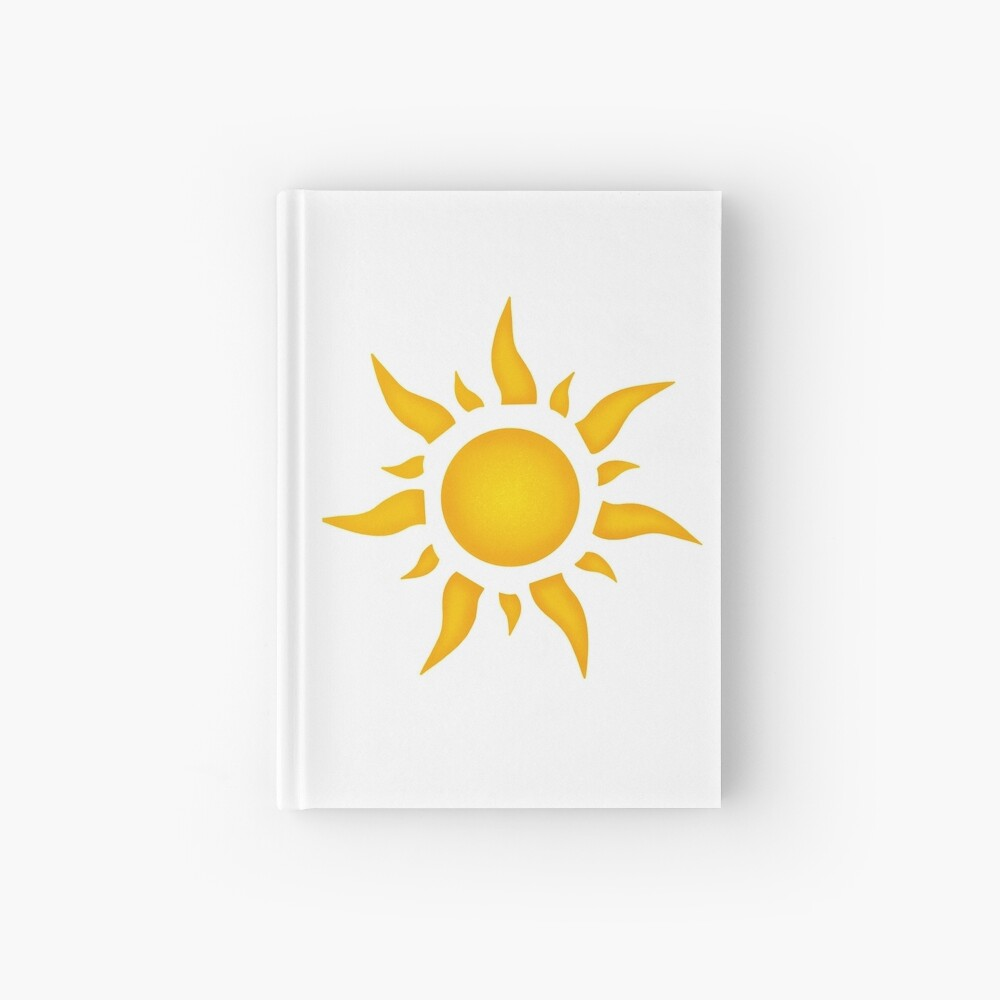 Tangled Sun Hardcover Journal By Isacaste Redbubble