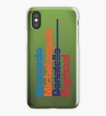 Leonardo, Michelangelo, Donatello, Raphael - iPhone case iPhone Case/Skin