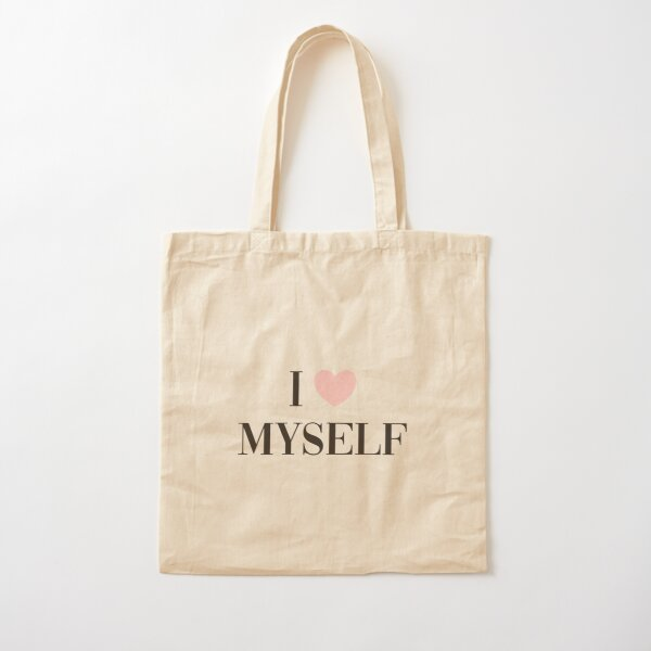 I love myself Cotton Tote Bag