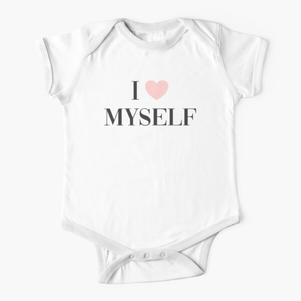 I love myself Short Sleeve Baby One-Piece
