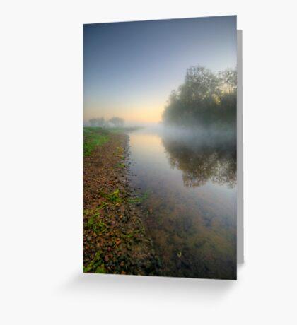 Misty Dawn 6.0 Greeting Card