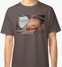 Sleeping baby girl Classic T-Shirt