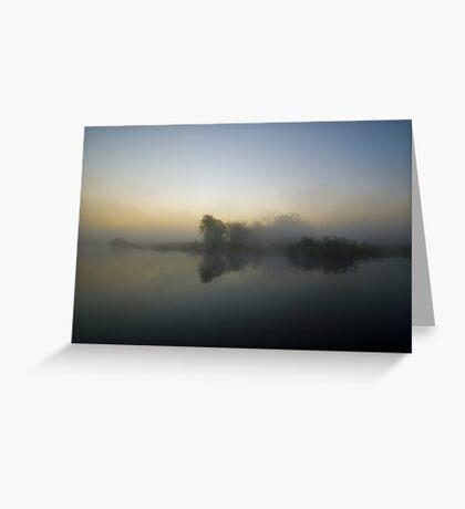 Misty Dawn 7.0 Greeting Card