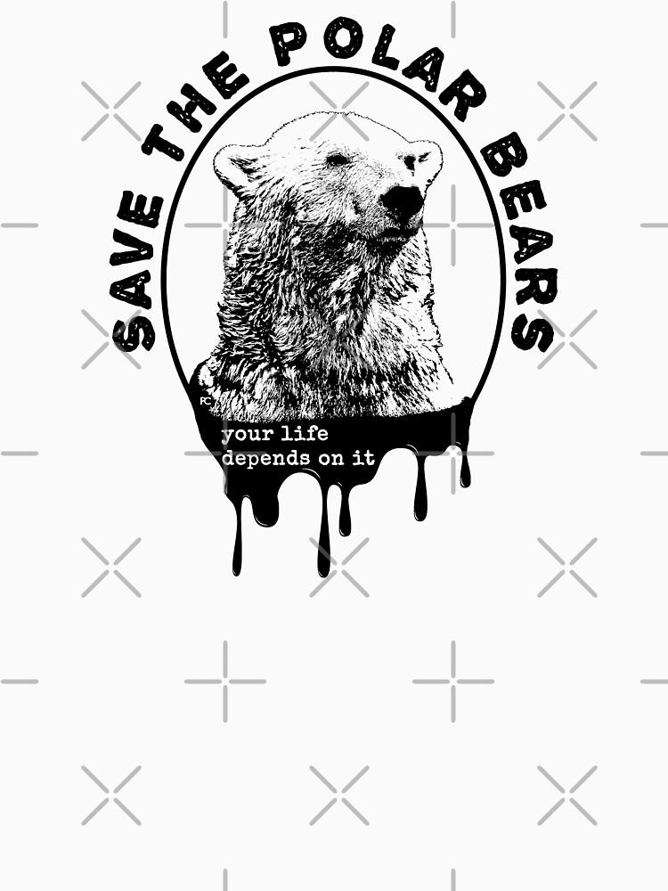 Save the Polar Bear, International Polar Bear Day by PrintChutney