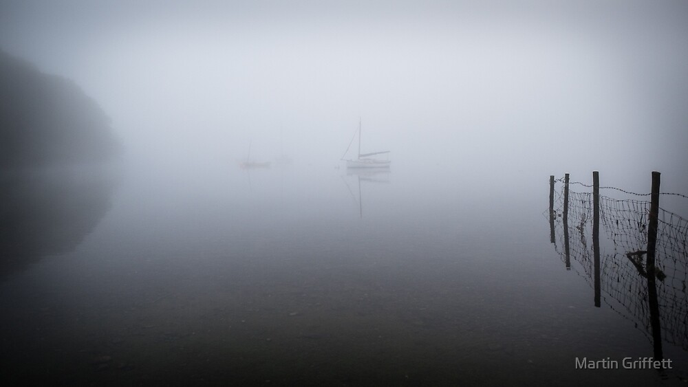 Boats in the Mist by Martin Griffett