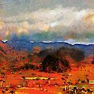 Dawn, the Mogotes, Vinales valley, Cuba by David Carton