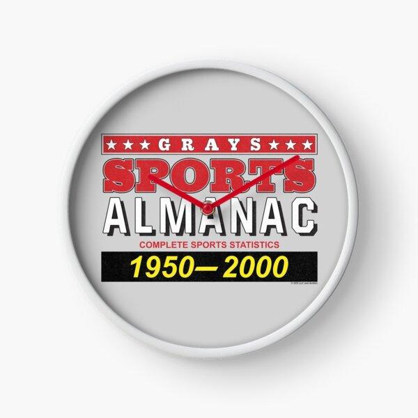 Biff's Sports Almanac Clock
