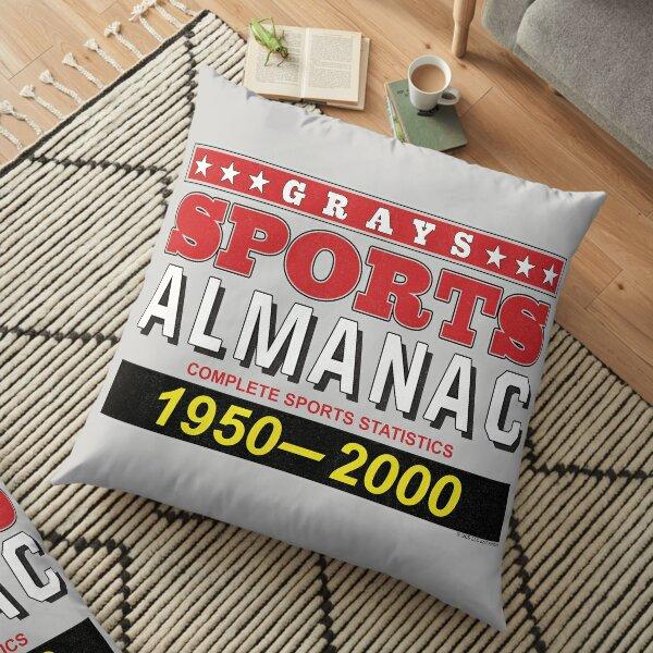 Biff's Sports Almanac Floor Pillow