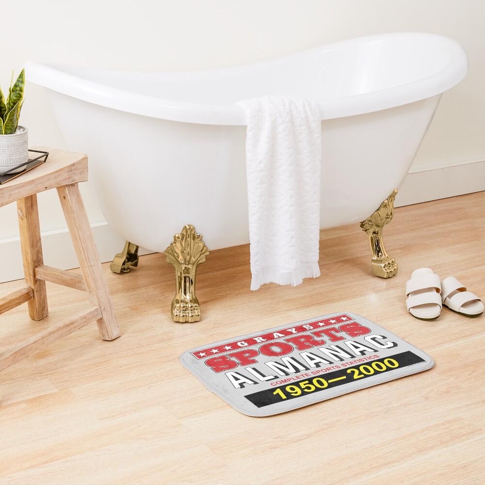 Biff's Sports Almanac Bath Mat