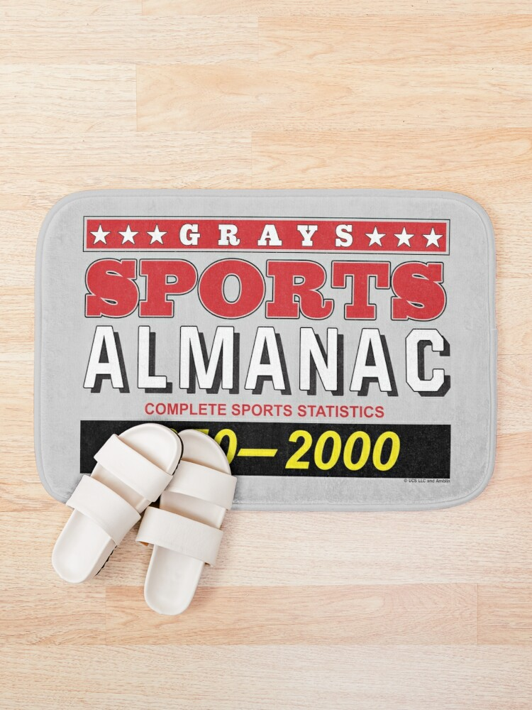 Alternate view of Biff's Sports Almanac Bath Mat