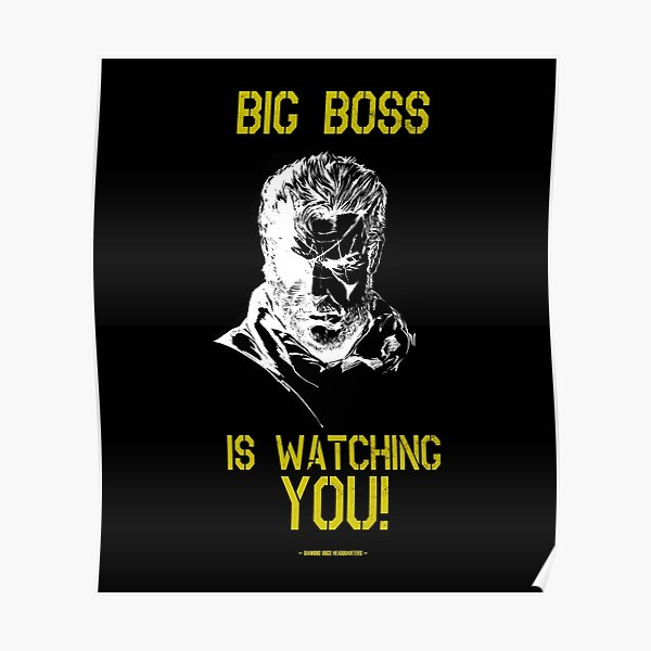 Big Boss Is Watching You! Poster