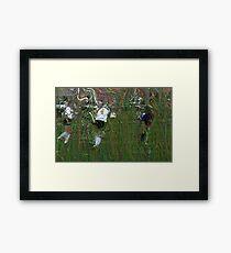 091611 085 0  pointillist Framed Print