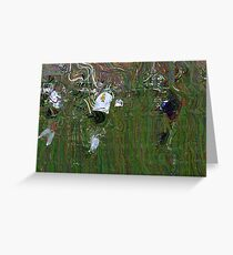 091611 085 0  pointillist Greeting Card