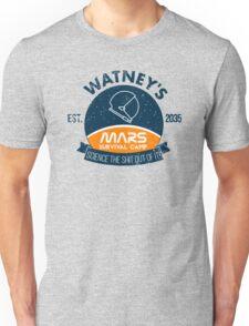 Watney's martian survival camp Unisex T-Shirt