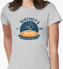 Watney's martian survival camp Women's Fitted T-Shirt