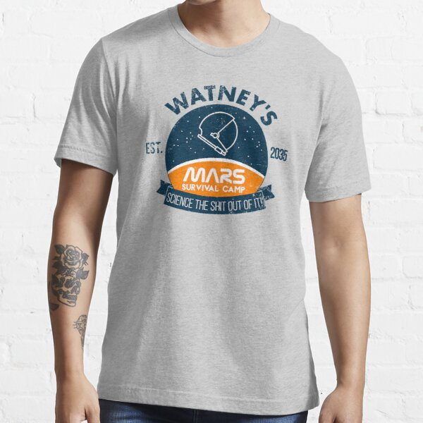 Watney's martian survival camp Essential T-Shirt