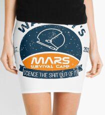 Watney's martian survival camp Mini Skirt