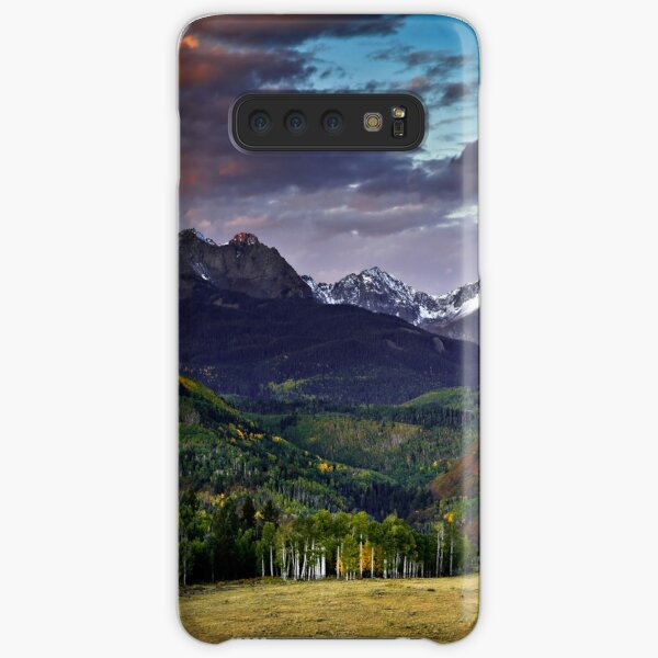 First Light in the San Juan Mountains of Colorado Samsung Galaxy Snap Case
