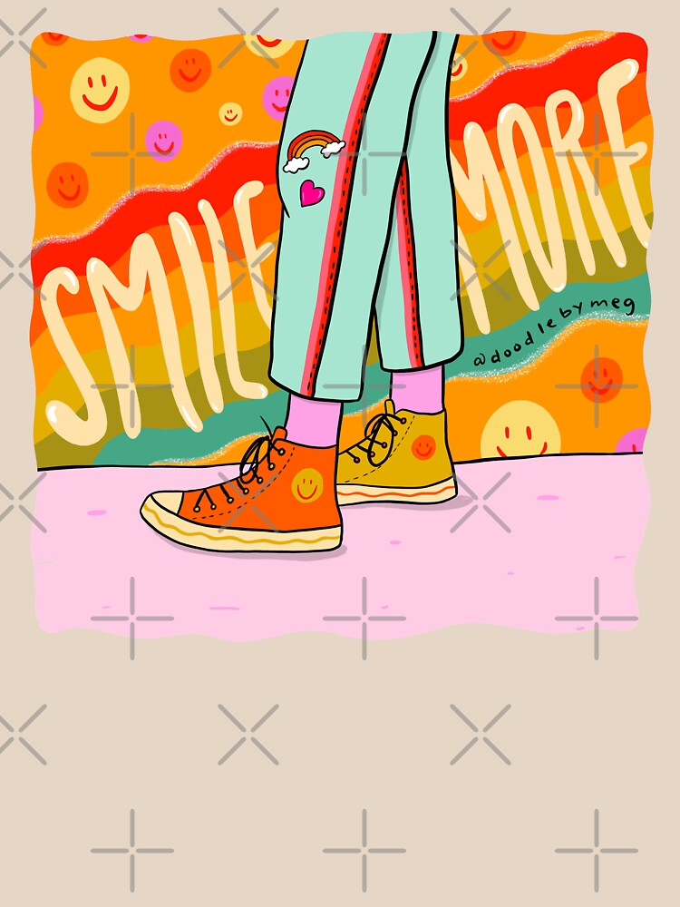 Smile More by doodlebymeg