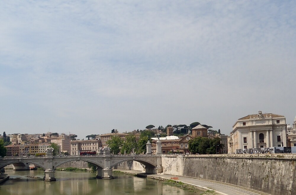 Ponte Sant'Angelo - Italy by clarebearhh