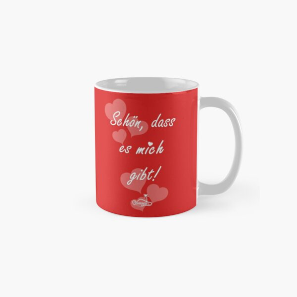 Nice that there is me / you cup - red Classic Mug