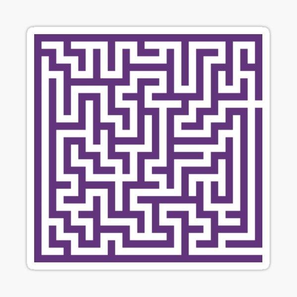 Chaotic One ~ purple Sticker