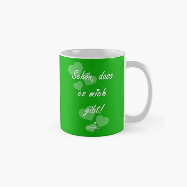 Nice that there is me / you cup - green Classic Mug