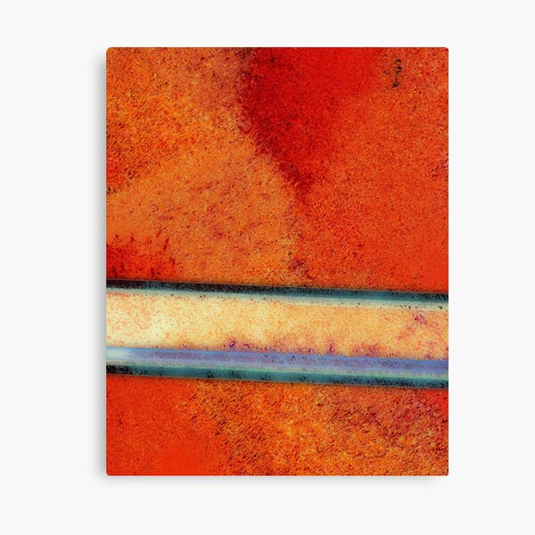 Single Cluster - Abstract Digital Painting Wall Art Original Geometric Painting Canvas Print