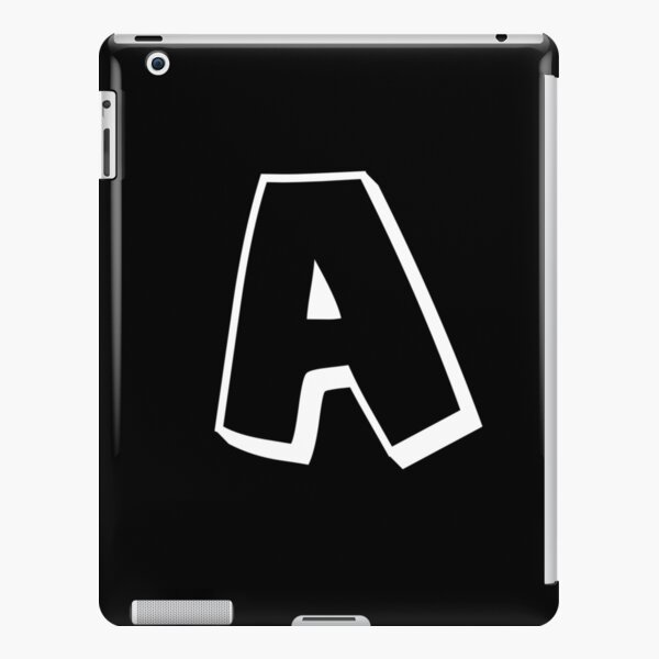 A letter  iPad Snap Case