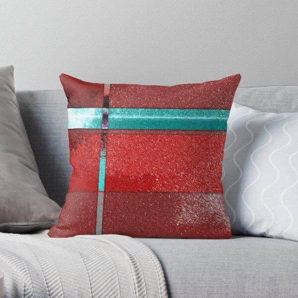 Heart - Abstract Digital Painting Wall Art Original Geometric Painting Throw Pillow