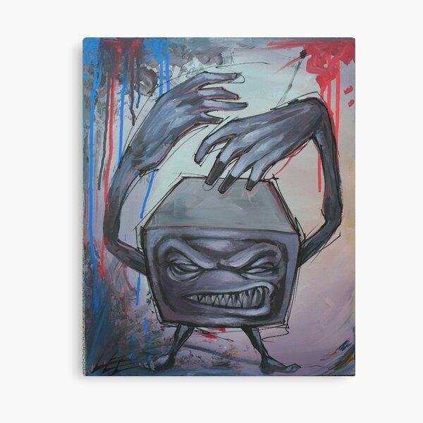 Killah TV Canvas Print