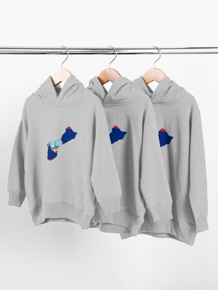 Alternate view of Guam (United States Of America) Toddler Pullover Hoodie
