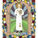 Icon of Pope Saint John Paul II by David Raber