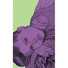 'Parisian Girl' Iphone case by Valena Lova