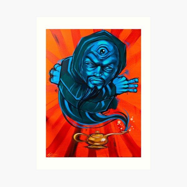 Genie Wonder Third Eye Urban Art Pop Art Art Print