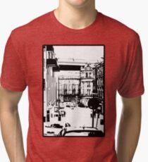 Newcastle Street Scene Tri-blend T-Shirt