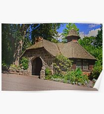 Fairytale Cottage Poster