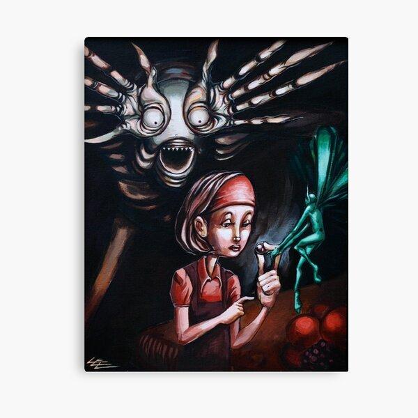 Caught in the Labyrinth Fairy Fairies Pans Labyrinth Folk Tale Canvas Print